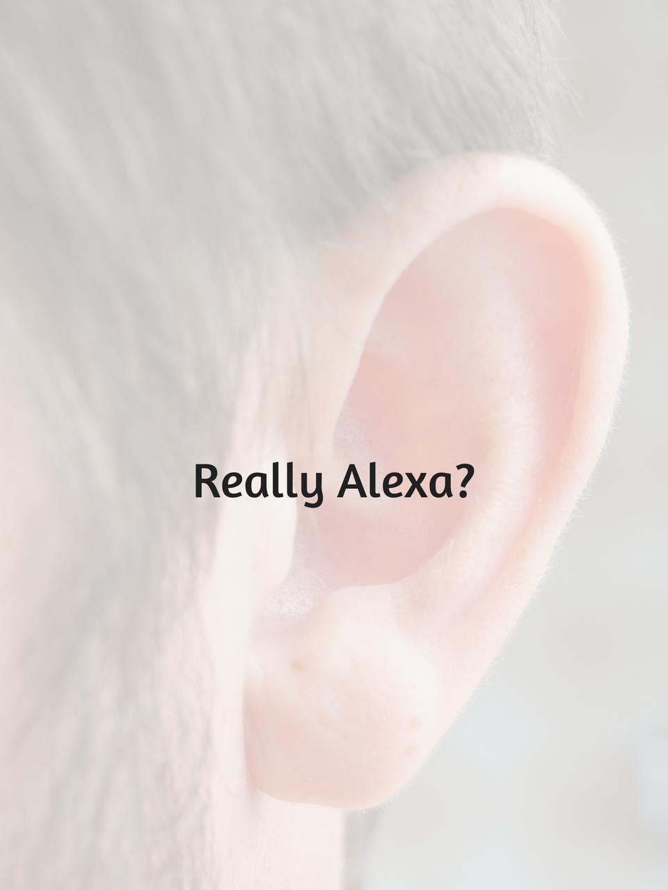 Listening Ear, no privacy.
